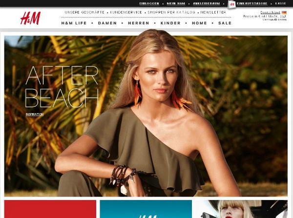 H&M neuer Shop