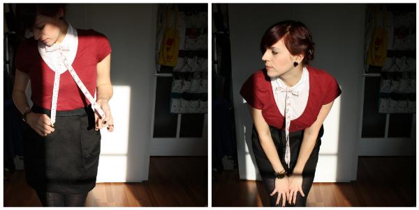 outfit modeblog rot © www.einfach-machen.blog