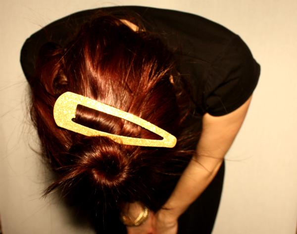 haarspange gold © www.einfach-machen.blog