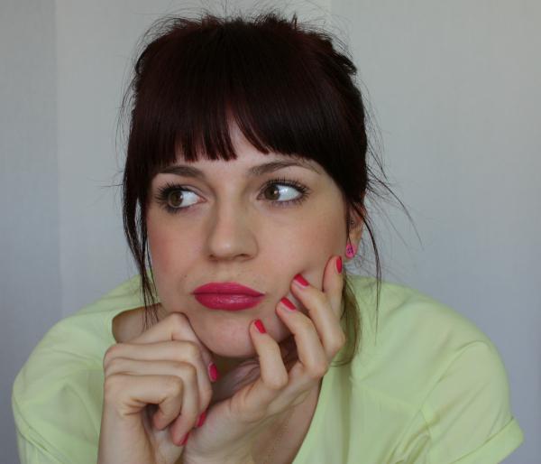 pink nagellack lippen © www.einfach-machen.blog