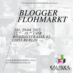 Berliner Blogger Flohmarkt