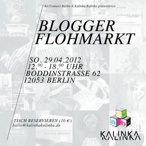 blogger flohmarkt berlin