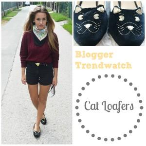 katzenschuhe cat loafers blogger