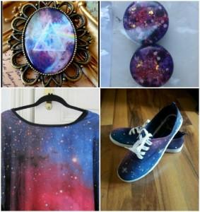 galaxy shirt leggins schuhe schmuck