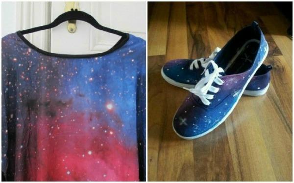 galaxy shirt schuhe
