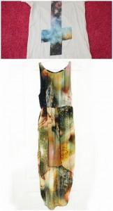 galaxy kleid shirt