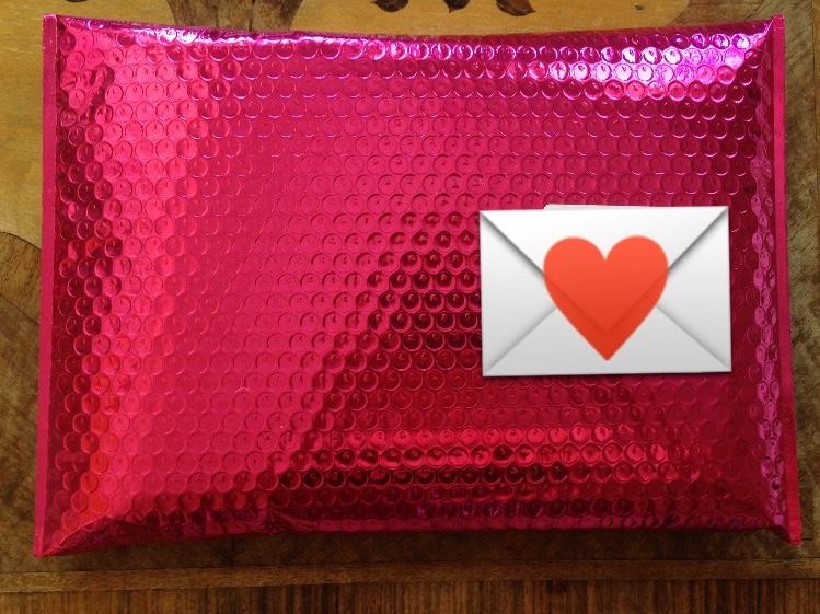 modulor Briefumschlag pink Luftpolster