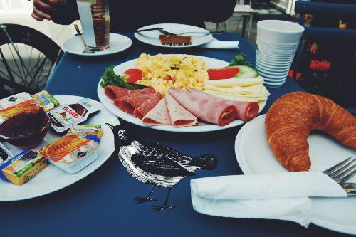 Frühstück Cafe Uhrlaub hamburg