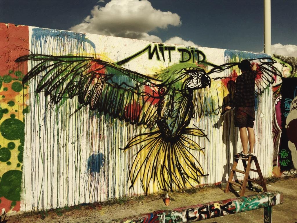 papagei mauerpark